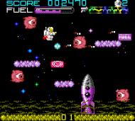 Super JetPak DX Game Boy ROM